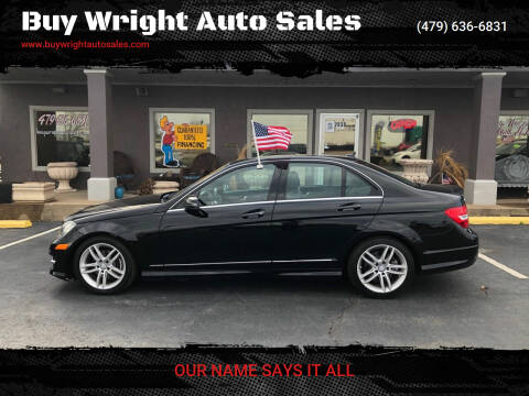 2013 Mercedes-Benz C-Class for sale at Buy Wright Auto Sales in Rogers AR