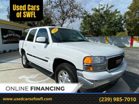 2006 GMC Yukon for sale at Used Cars of SWFL in Fort Myers FL