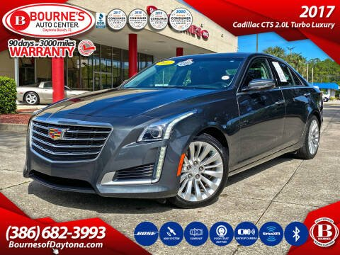 2017 Cadillac CTS for sale at Bourne's Auto Center in Daytona Beach FL