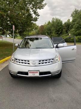 2007 Nissan Murano for sale at Dreams Auto Sales LLC in Leesburg VA