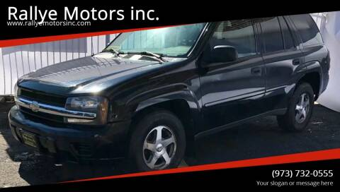 2006 Chevrolet TrailBlazer for sale at Rallye  Motors inc. in Newark NJ