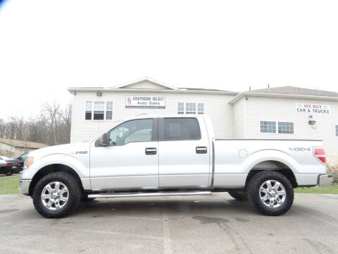 2014 Ford F-150 for sale at SOUTHERN SELECT AUTO SALES in Medina OH