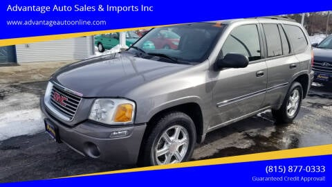 2008 GMC Envoy for sale at Advantage Auto Sales & Imports Inc in Loves Park IL