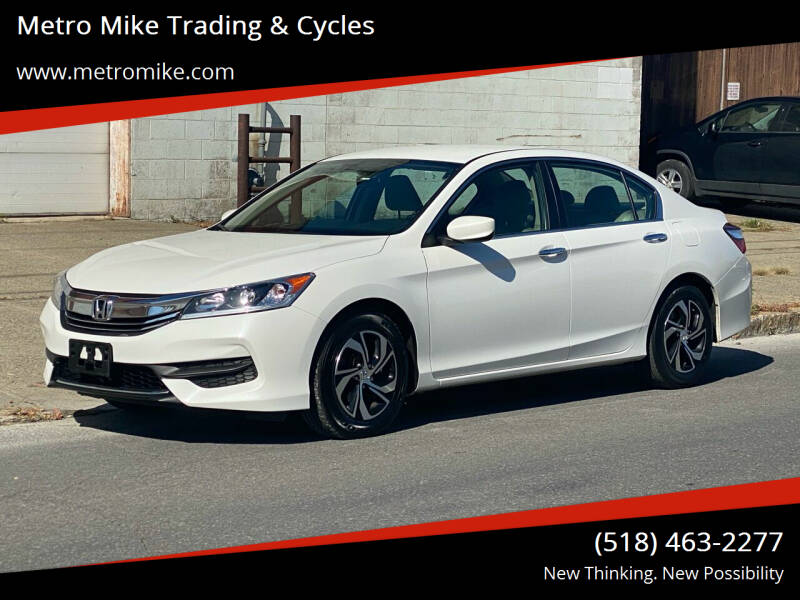 2017 Honda Accord for sale at Metro Mike Trading & Cycles in Albany NY