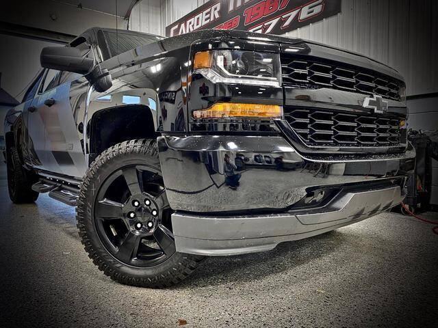 2018 Chevrolet Silverado 1500 for sale at Carder Motors Inc in Bridgeport WV