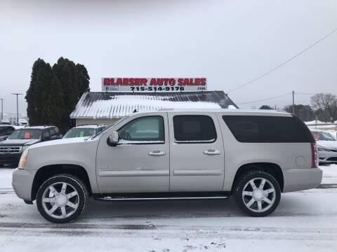 2008 GMC Yukon XL for sale at BLAESER AUTO LLC in Chippewa Falls WI