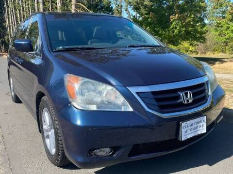 2009 Honda Odyssey for sale at CLEAR CHOICE AUTOMOTIVE in Milwaukie OR