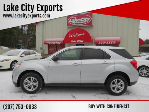 2015 Chevrolet Equinox for sale at Lake City Exports in Auburn ME