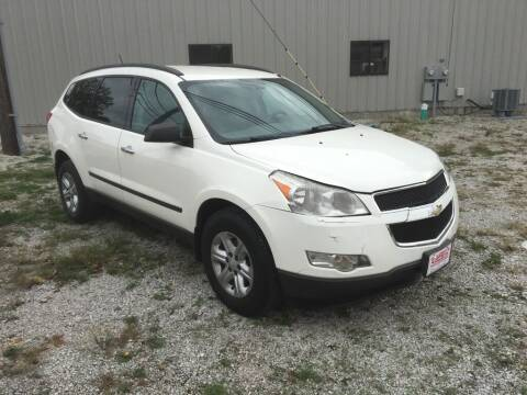 2012 Chevrolet Traverse for sale at G LONG'S AUTO EXCHANGE in Brazil IN