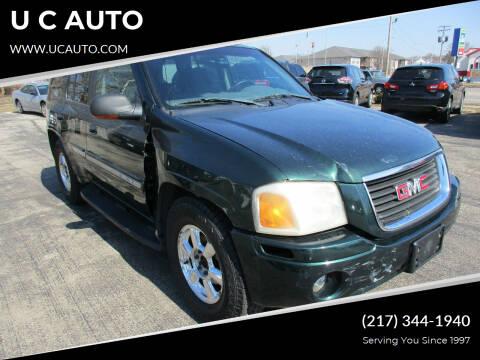 2004 GMC Envoy for sale at U C AUTO in Urbana IL