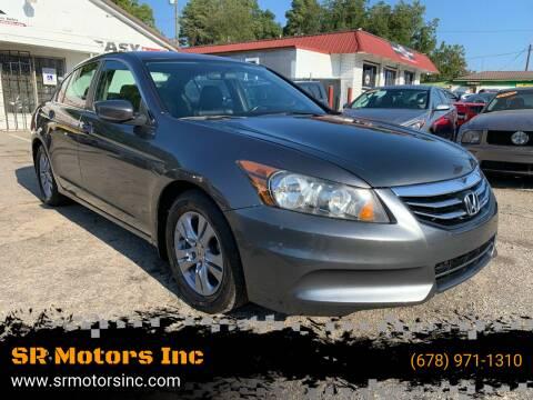 2011 Honda Accord for sale at SR Motors Inc in Gainesville GA