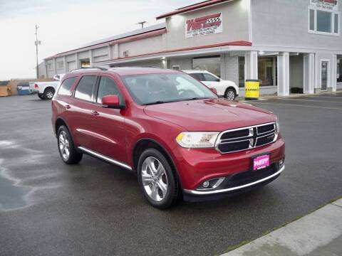 2014 Dodge Durango for sale at West Motor Company in Hyde Park UT