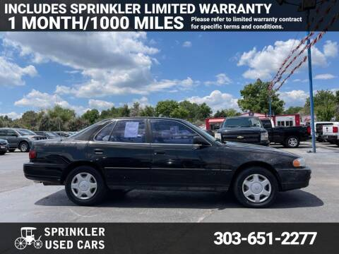 1996 Toyota Camry for sale at Sprinkler Used Cars in Longmont CO