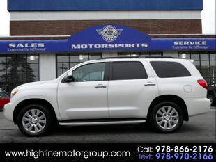 2016 Toyota Sequoia for sale at Highline Group Motorsports in Lowell MA