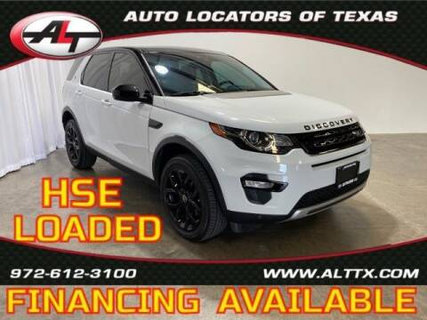 2015 Land Rover Discovery Sport for sale at AUTO LOCATORS OF TEXAS in Plano TX