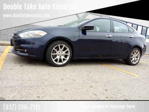 2013 Dodge Dart for sale at Double Take Auto Sales LLC in Dayton OH