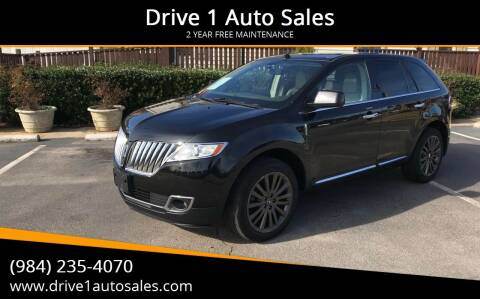2011 Lincoln MKX for sale at Drive 1 Auto Sales in Wake Forest NC