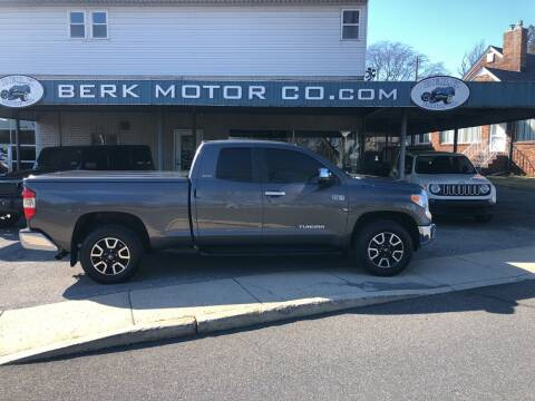 2015 Toyota Tundra for sale at Berk Motor Co in Whitehall PA