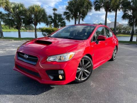 2016 Subaru WRX for sale at Vogue Auto Sales in Pompano Beach FL