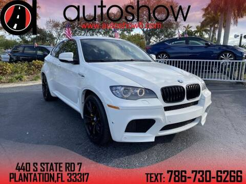 2012 BMW X6 M for sale at AUTOSHOW SALES & SERVICE in Plantation FL