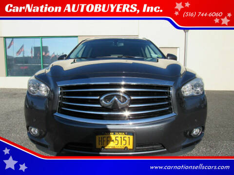 2013 Infiniti JX35 for sale at CarNation AUTOBUYERS, Inc. in Rockville Centre NY