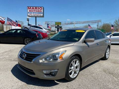 2014 Nissan Altima for sale at Mario Motors in South Houston TX