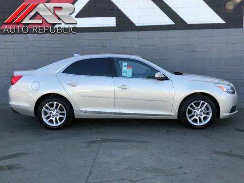 2013 Chevrolet Malibu for sale at Auto Republic Fullerton in Fullerton CA
