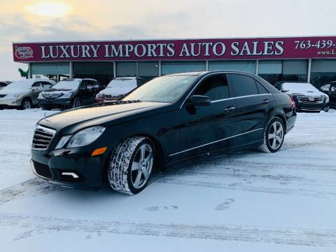 2010 Mercedes-Benz E-Class for sale at LUXURY IMPORTS AUTO SALES INC in North Branch MN