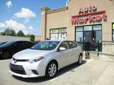 2016 Toyota Corolla for sale at Auto Market in Oklahoma City OK