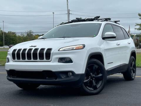 2016 Jeep Cherokee for sale at MAGIC AUTO SALES in Little Ferry NJ
