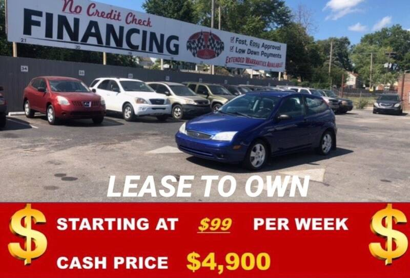 2005 Ford Focus for sale at Auto Mart USA in Kansas City MO
