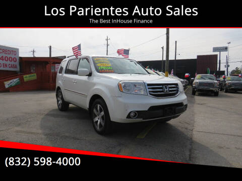 2013 Honda Pilot for sale at Los Parientes Auto Sales in Houston TX