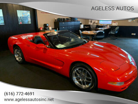 2001 Chevrolet Corvette for sale at Ageless Autos in Zeeland MI