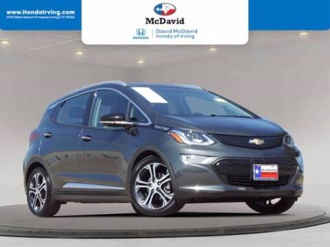 2020 Chevrolet Bolt EV for sale at DAVID McDAVID HONDA OF IRVING in Irving TX