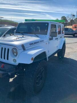 2016 Jeep Wrangler Unlimited for sale at BRYANT AUTO SALES in Bryant AR