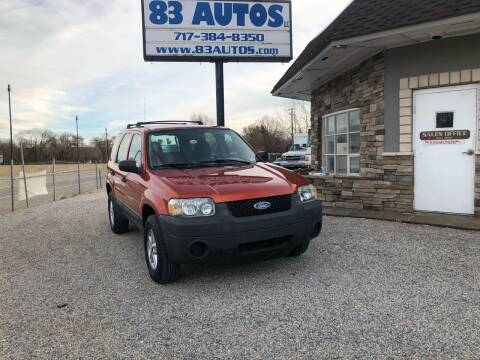 2007 Ford Escape for sale at 83 Autos in York PA