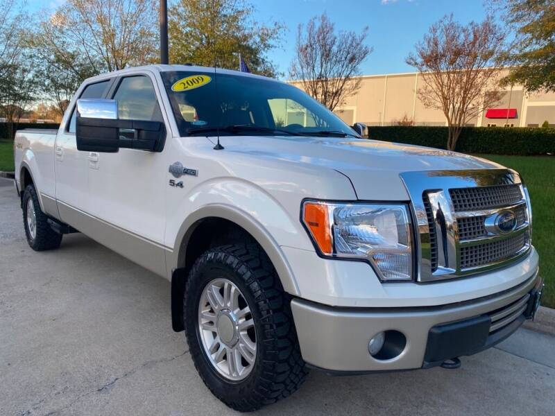 2009 Ford F-150 for sale at UNITED AUTO WHOLESALERS LLC in Portsmouth VA