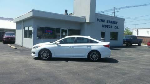 2015 Hyundai Sonata for sale at VINE STREET MOTOR CO in Urbana IL