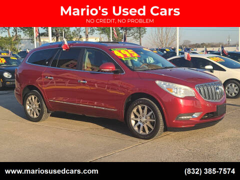 2014 Buick Enclave for sale at Mario's Used Cars in Houston TX