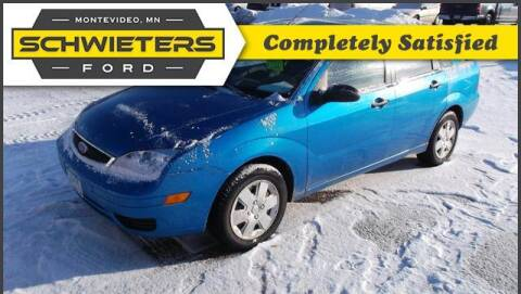 2007 Ford Focus for sale at Schwieters Ford of Montevideo in Montevideo MN