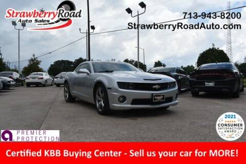 2013 Chevrolet Camaro for sale at Strawberry Road Auto Sales in Pasadena TX