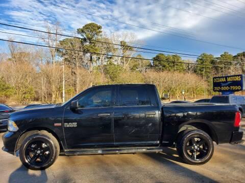 2014 RAM Ram Pickup 1500 for sale at Oceana Motors in Virginia Beach VA