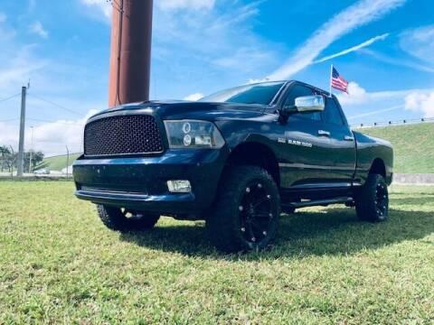 2012 RAM Ram Pickup 1500 for sale at Venmotors LLC in Hollywood FL