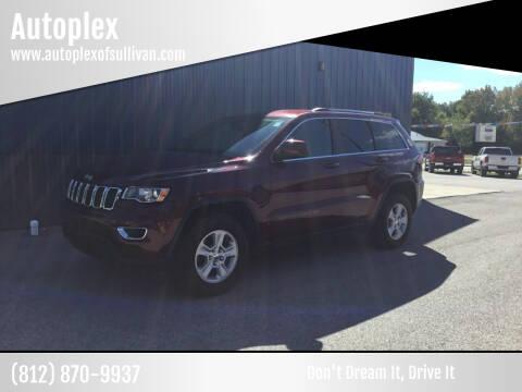 2017 Jeep Grand Cherokee for sale at Autoplex in Sullivan IN