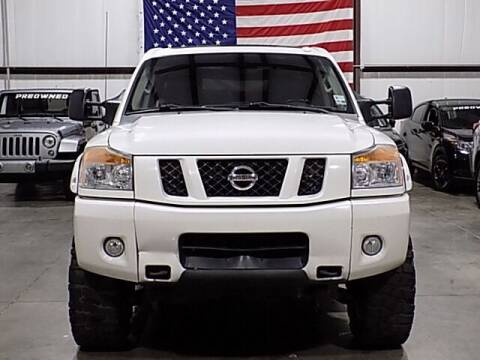 2012 Nissan Titan for sale at Texas Motor Sport in Houston TX