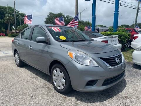 2013 Nissan Versa for sale at AUTO PROVIDER in Fort Lauderdale FL