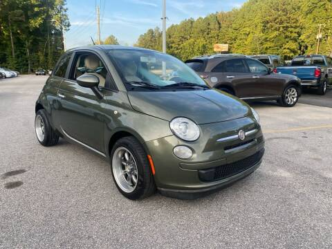 2013 FIAT 500 for sale at Galaxy Auto Sale in Fuquay Varina NC