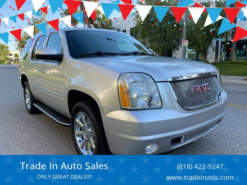 2014 GMC Yukon for sale at Trade In Auto Sales in Van Nuys CA
