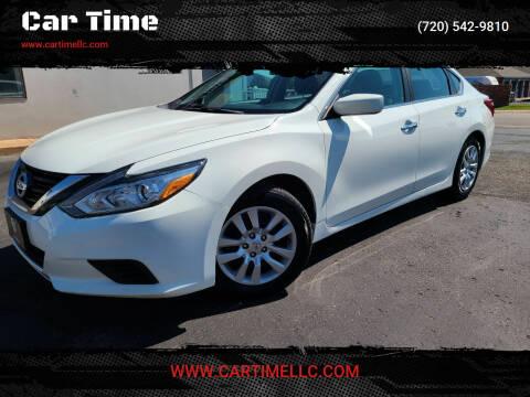 2016 Nissan Altima for sale at Car Time in Denver CO