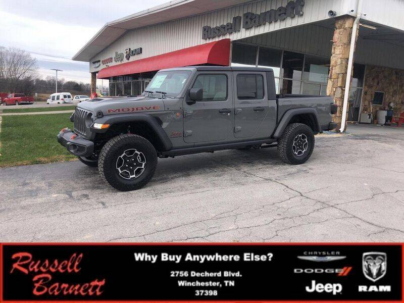 2021 Jeep Gladiator for sale at Russell Barnett Chrysler Dodge Jeep Ram in Winchester TN